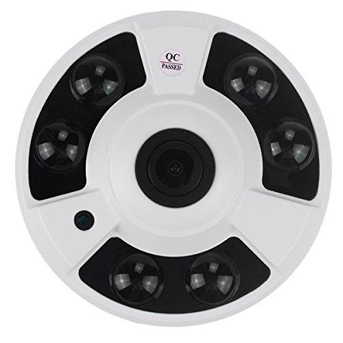 IP Camera Panorama Jiazy 5MP Fisheye di 360 gradi ampio angolo di visione con Sony IMX178 H.265 Motion Detection per la sicurezza interna