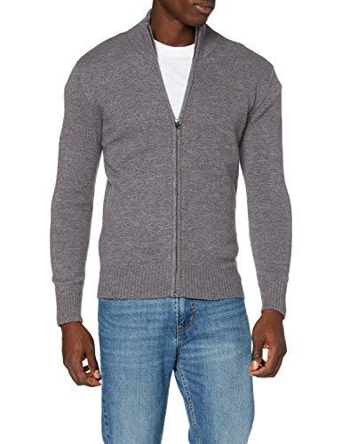 Schott NYC Pllance3 Maglione Pullover, H Grey, Small Uomo