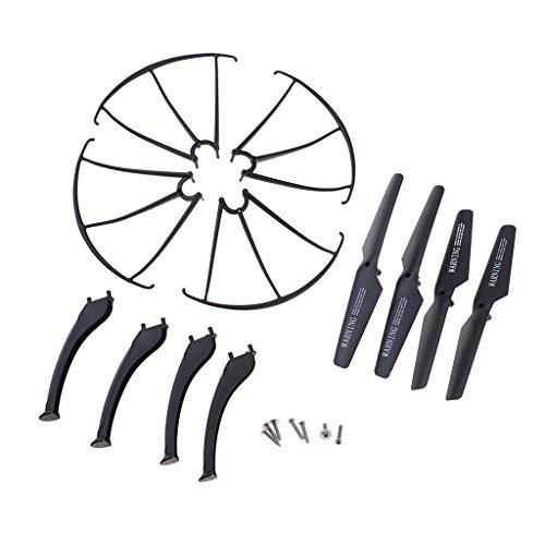 Kit di Protezione Puntello di Atterraggio Dell'elica per Pezzi di Ricambio per Drone SYMA X5SC X5SW