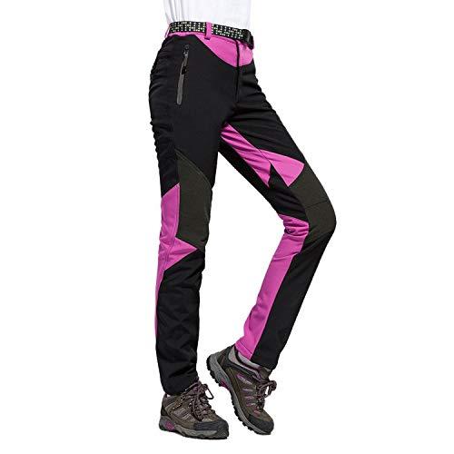 LHHMZ Mujeres Pantalones Impermeables de Senderismo Transpirable Liger