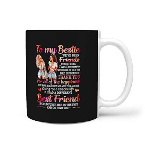 NC83 11 Oz koffiemok hoogwaardige keramiek gepersonaliseerde mok - vrienden cadeau (beide zijden bedrukken)