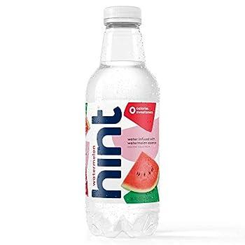 Hint Water Watermelon  Pack of 12  16 Ounce Bottles Pure Water Infused with Watermelon Zero Sugar Zero Calories Zero Sweeteners Zero Preservatives Zero Artificial Flavors