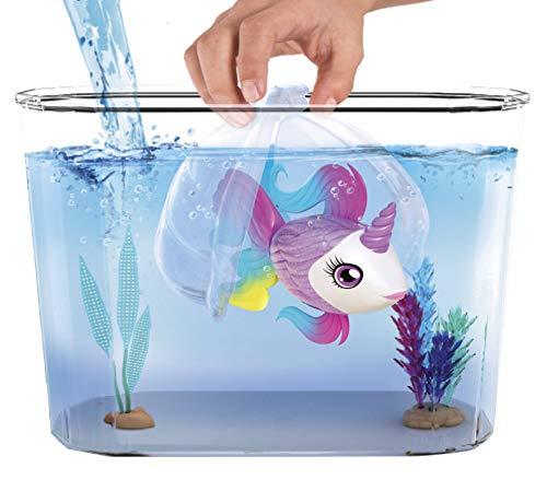 Famosa Little Live Pets - Pecera de Aquaritos - Pecera con Accesorios y un pez Exclusivo LP100010