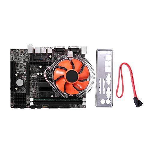Fauge Ventilador Silencioso LGA771 con Tipo de Memoria DDR3 1333Mhz Ranura para CPU Compatible con CombinacióN de ConfiguracióN USB3.0 para Computadoras de Escritorio