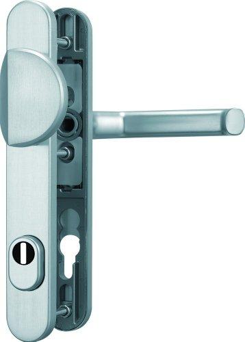 ABUS Tür-Schutzbeschlag SRG92 F1 aluminium mit Zylinderschutz 47956
