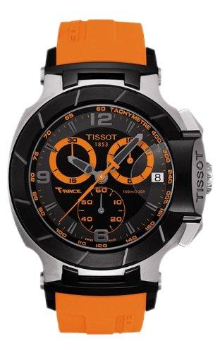 Herren Armbanduhr Tissot T0484172705704t-race t-race Analog Chronograph Schwarz Zifferblatt Ora