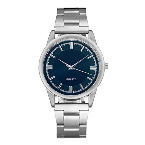 Moda Relojes Hombre Elegante Vestir, Reloj De Correa De Malla De Acero Inoxidable Casual De Negocios para Hombres Reloj De Cuarzo con Esfera Simple 2020 Nuevo