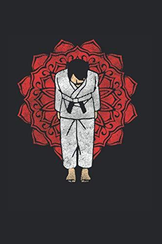 Verbeugen: Din A5 Verbeugung Notizbuch Karate Geschenk mit 120 Seiten