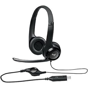 ロジクール USBヘッドセット H390ブラック H390R 1台 ds-2141846