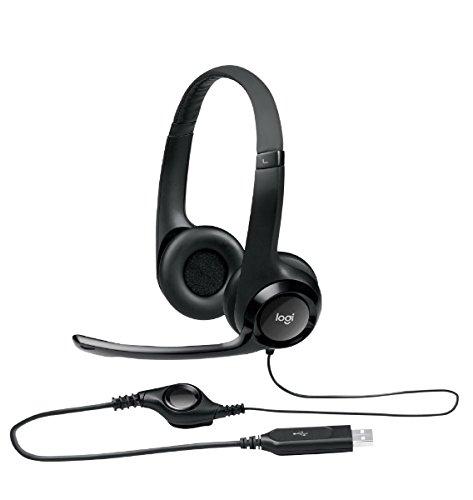 『ロジクール USBヘッドセット H390ブラック H390R 1台 ds-2141846』のトップ画像