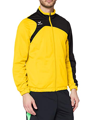erima Herren Polyesterjacke Club 1900 2.0 Polyesterjacke, gelb/schwarz, XL, 1020706