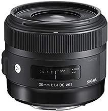 Sigma 30mm f/1.4 DC HSM Lens for Canon Digital SLR Cameras (Black) - International Version (No Warranty)