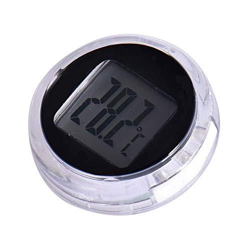 Termometro Digitale per Moto , Monitor Tester Temperatura Digitale Stick-On, Rivelatore Termometro Impermeabile per Bagno Cucina Auto Moto