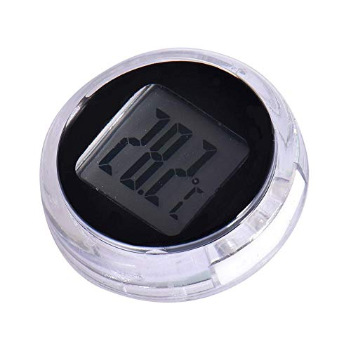 Afford Motorrad Digital Thermometer Digitaler Temperaturmonitor-Tester Aufklebbarer, Wasserdichter Thermometer-Detektor Für Auto-Motorrad-Küche Arbeits