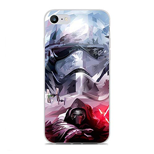 Slim Clear Coque Anti-Yellowing TPU Soft Cover Anti-Shock Soft Silicone Case For Apple iPhone 7/8/SE 2020-Cool Star-Wars 2