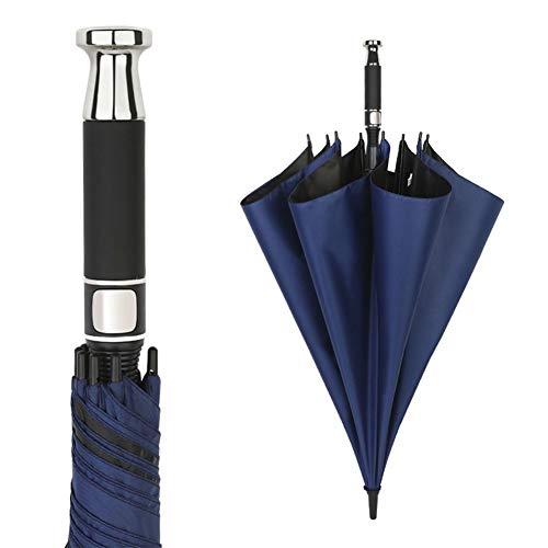 Rolls-Royce Langstiel Regenschirm große gerade Stange Doppel Golf Regenschirm Männer Geschäftsgeschenke