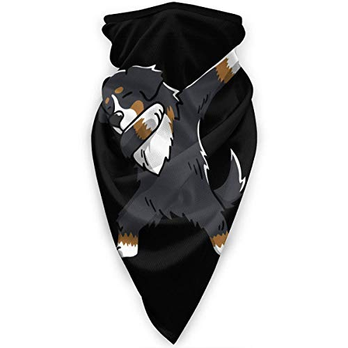 WlQshop Swag Bernese Mountain Dog Halsmanschetten Wärmer Windproof Face Cover Scarf Outdoor Sports Cover