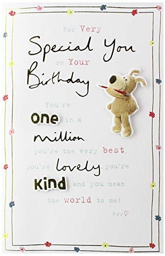 Geburtstagskarte für Sie – Geburtstagskarte für Damen – Someone Special Geburtstagskarte – süßes Boofle-Design