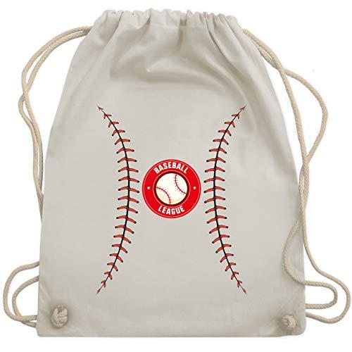 Karneval & Fasching - Baseball Kostüm - Unisize - Naturweiß - baseball bag - WM110 - Turnbeutel und Stoffbeutel aus Baumwolle
