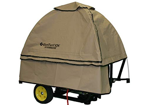 GenTent 10k Generator Tent Running Cover - Universal Kit (Standard, TanLight) - Compatible with...