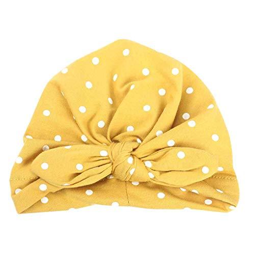 forbestest La niña del patrón linda del sombrero con banda elástica headwraps...