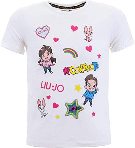 T-Shirt Me Contro Te Bambina, 10 Anni (140), Bianco