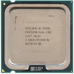 Intel Pentium Dual-Core E5200 Tray CPU Pentium