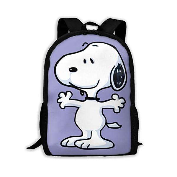 410f8G6E5SL. SS600  - LIUYAN Custom Snoopy Mochila Casual Mochila Escuela Bolsa Viaje Daypack Regalo