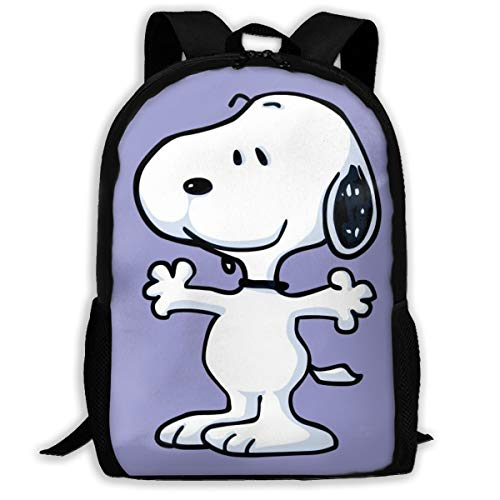410f8G6E5SL - LIUYAN Custom Snoopy Mochila Casual Mochila Escuela Bolsa Viaje Daypack Regalo