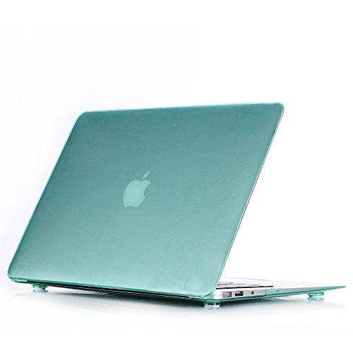 'Custodia Macbook Pro Retina 13.3'–Crystal Case Cover Rigida di protezione per MacBook Pro 13.3Retina Display (modello A1502o A1425) Custodia in plastica Custodia verde Macbook Air 11.6''