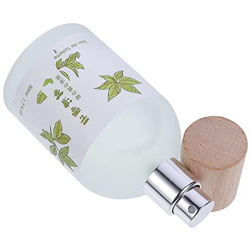 Minkissy Perfume de Mujer Notas de Té Blanco de Larga Duración Perfume Natural Fresco para Mujeres Dormitorio de Niña 50Ml