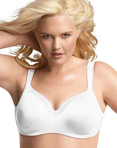 Playtex Secrets Women`s Body Revelation Underwire Bra White