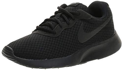 NIKE Tanjun, Sneaker Donna, Nero (Black/White 002), 40.5 EU