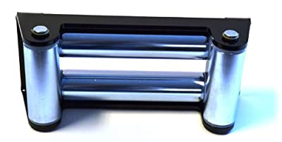 WARN 69394 Zinc Plated Winch Roller Fairlead for 16.5ti and M15000 Winches