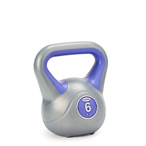 York Fitness - Pesa Rusa (Vinilo) Red 14kg Talla:14kg