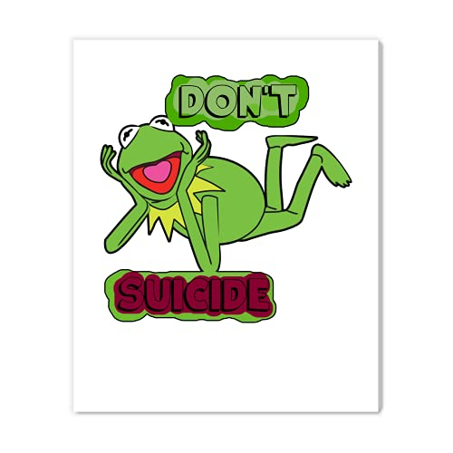 Updated Don T Kermit Suiiciide Unisex Print Canvasmens Print Canvasbest Vintage Canvas Print For Women Shirt Youth Handmade Movie Gallery Wrapped Canvass Movie Gal Canvas Design 5088