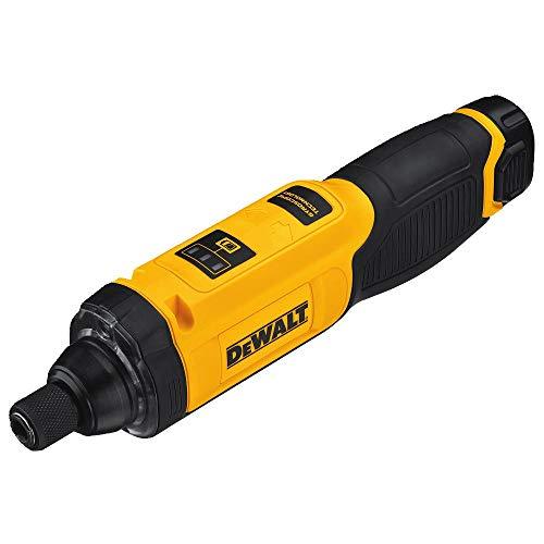 DEWALT 8V MAX无绳螺丝刀套件,陀螺仪,1节电池(DCF682N1)