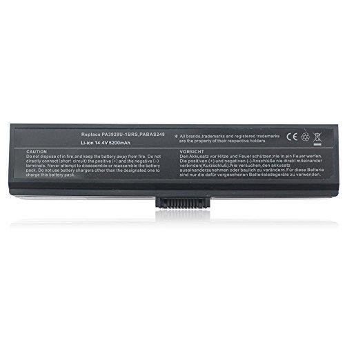 7XINbox 14.4V 5200mAh PA3928U-1BRS PABAS248 Ersatz Akku Batterie für Toshiba Qosmio X775, X775-3DV78, X775-3DV80, X775-3DV82, X775-Q7170, X775-Q7270, X775-Q7272, X775-Q7273, X775-Q7275, X775-Q7380