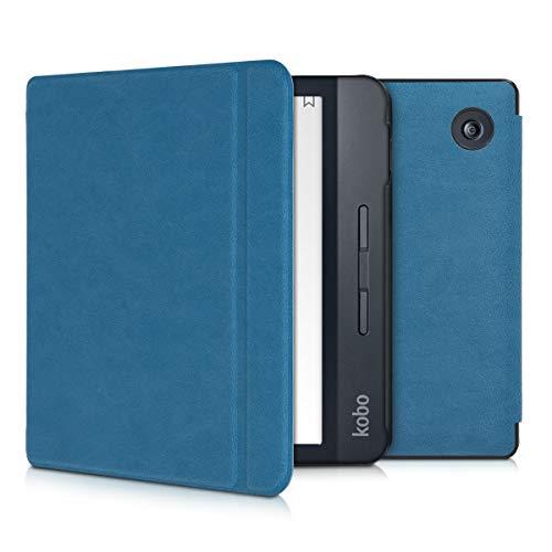 kwmobile Cover Compatibile con Kobo Libra H2O - Custodia a Libro per eReader - Copertina Protettiva Flip Case - Protezione per e-Book Reader