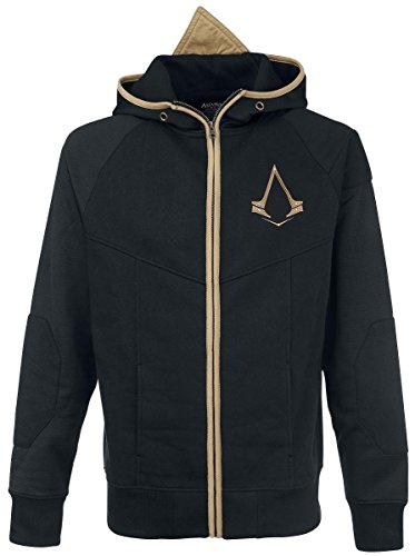Assassin's Creed Syndicate - Hoodie (Zwart) -Schwarz, L