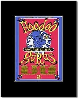 Music Ad World Hoodoo GURUS - Australian Tour 1996 Mini Poster - 17.8x12.7cm