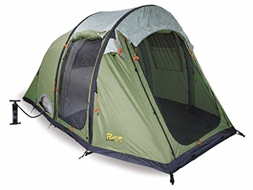 Bertoni Tende Smart 5 Air Tenda da Campeggio Pneumatica, Verde Bosco, Taglia Unica