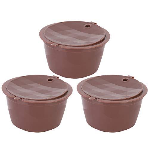 Shipenophy Accesorios de café Reemplazo de cápsula de café Mejor Filtro de café Recargable ambientalmente para la Oficina en casa