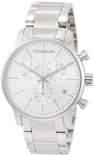 Calvin Klein K2G27146 - Reloj, Correa de Acero Inoxidable Color Plateado