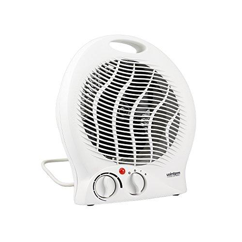 Drop Termoventilatore con doppia potenza 1000 - 2000W Caldobagno stufa elettrica - Wintem