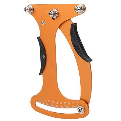 SALUTUYA Medidor de tensión de radios portátil Medidor indicador de Bicicleta Tensiómetro de Ajuste de Alambre de aleación de Aluminio Tensiómetro de radios, para Bicicleta