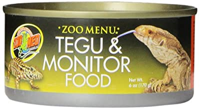 Zoo Med Laboratories SZMZM70 Tegu,Monitor and Carnivore Food, 6-Ounce