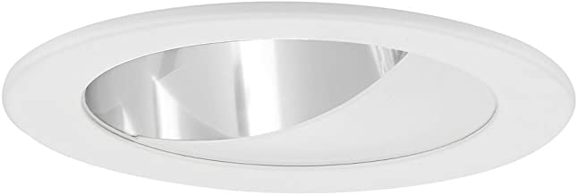 GU10 Clear Wall Washer LED Trim for 4-Inch Line and Low Voltage Recessed Cans