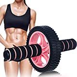 Ab Roller Wheel Exercise Equipment,No Noise Ab Roller Wheel at Home Workout Easy to Assemble Ab...