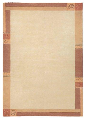 Luxor Living Nepal Teppich handgeknüpft Vanilla Größe auswählen 200 x 300 cm